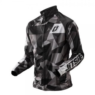 Jitsie Trialjacke L3 Polygon Black/Silver/Grey