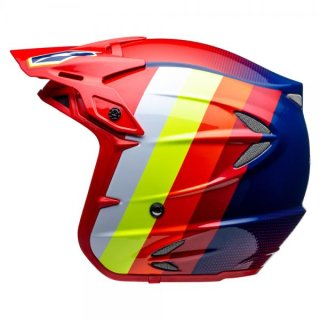 Jitsie Trialhelm HT2 Voita Navy/Red/Orange/Yellow