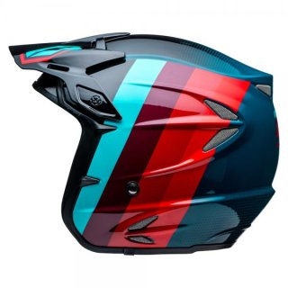 Jitsie Trialhelm HT2 Voita Black/Red/Blue