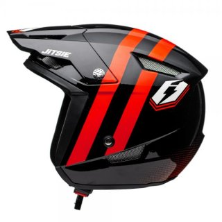 Jitsie Trialhelm HT1 Voita Black/Red