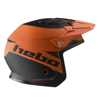 Hebo Trial Helm ZONE 5 WE TRUST orange GLANZ
