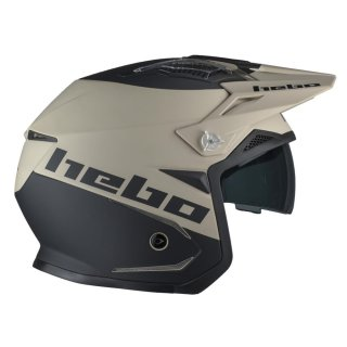 Hebo Trial Helm ZONE 5 WE TRUST beige
