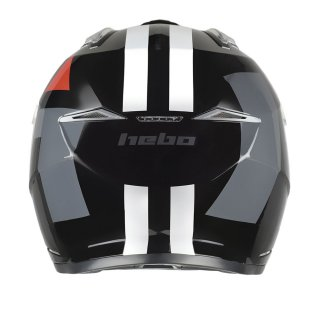 Hebo Trial Helm ZONE 5 H-Type schwarz
