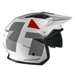 Hebo Trial Helm ZONE 5 H-TYPE weiß