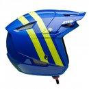 Jitsie Trialhelm HT1 Voita Blue/Fluo Yellow