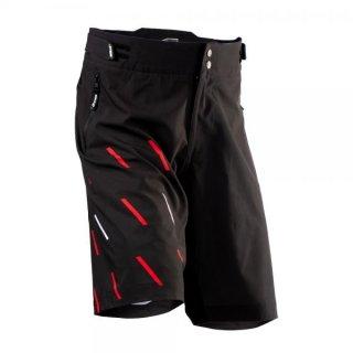 Jitsie Trialbike Short KID C3 Domino Black/Red/White