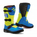 TCX Comp-KID Trialstiefel Royal Blue/Yellow