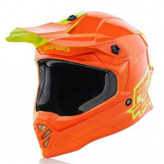 AC Helm Steel Eclipse Junior gelb/orange
