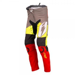 Jitsie Trialhose Wave OSET KID Black/Yellow/Fluo Yellow