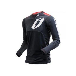 Jitsie Trialhemd T3 Omnia Black/Red