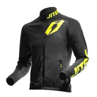 Jitsie Trialjacke Signal Black / Fluo Yellow