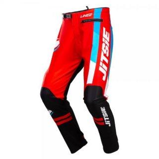 Jitsie Trialhose L3 Linez Black/Red/Blue
