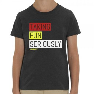 OSET/Jitsie T-Shirt Tanking Fun Seriously KID Grey