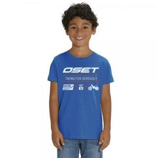 OSET/Jitsie T-Shirt Electro KID Blue/White/Red