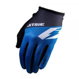 Jitsie Trialhandschuhe G2 Solid KID Blue/Black/White