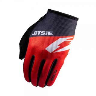 Jitsie Trialhandschuhe G2 Solid Black/Red/White