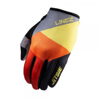 Jitsie Trialhandschuhe G2 Linez Grey/Fluo Yellow/Red