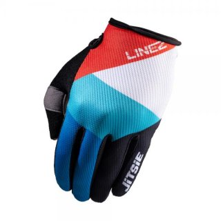 Jitsie Trialhandschuhe G2 Linez Black/Red/Blue